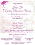 Michigan Federation at Republican Women's 'High Tea' May 5