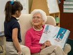Barbara Bush Selects Winning Numbers for 2017 Literacy Program