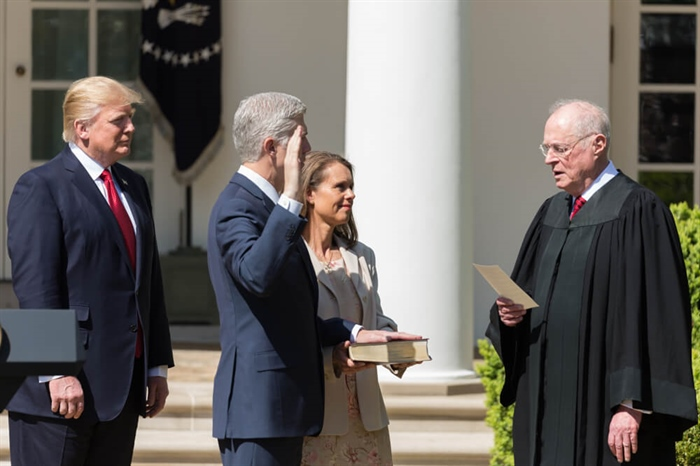 Republican Women Applaud Confirmation of Trump Supreme Court Nominee Neil Gorsuch