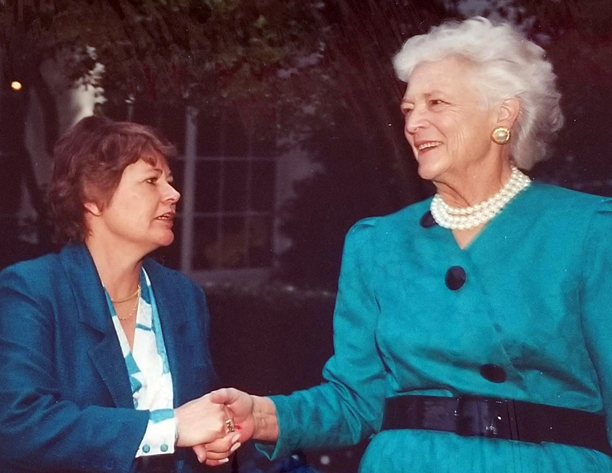 NFRW Republishes 1988 Article Featuring Barbara Bush