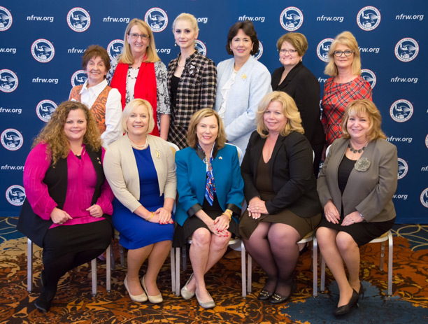 Members of the 2018-2019 NFRW Executive Committee