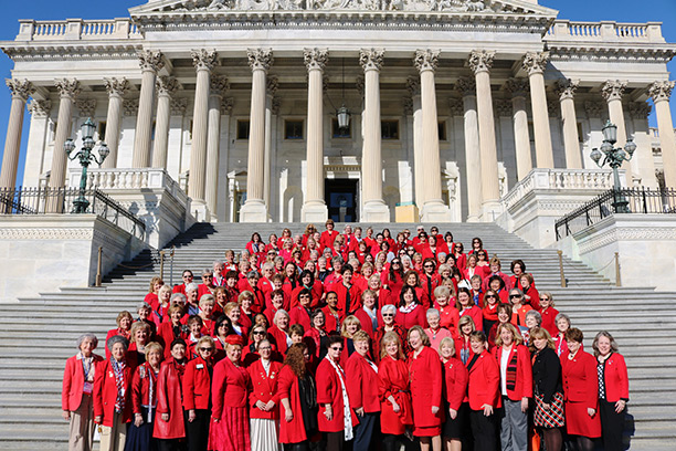 The official photo of NFRW Legislative Day at the U.S. Capitol, 2016.