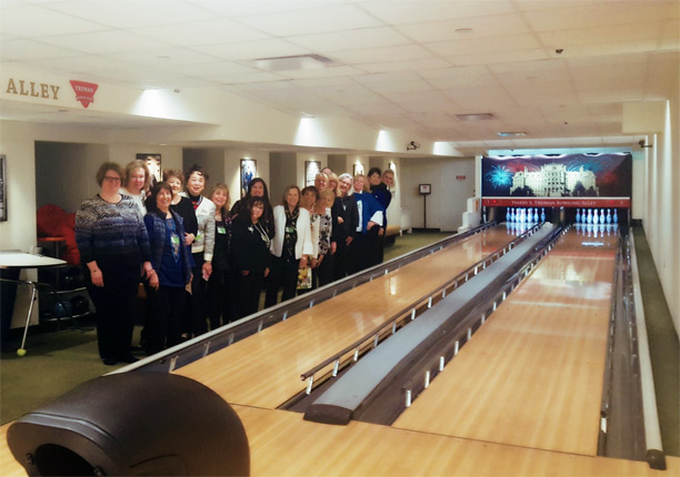 NFRW Capitol Regents at the White House Truman Bowling Alley