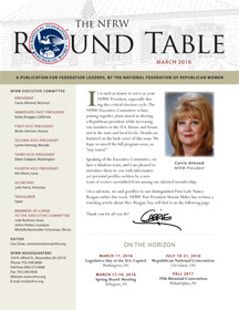 NFRW members receive the NFRW Round Table digital newsletter.