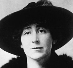 Republican Jeannette Rankin of Montana, the first woman elected to Congress