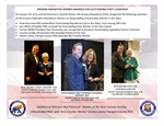 Arizona Federation Members Honored at AZGOP Chairman's Awards Dinner