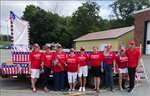 Women's Republican Club of Fulton County (NY) Assembles First Parade Float