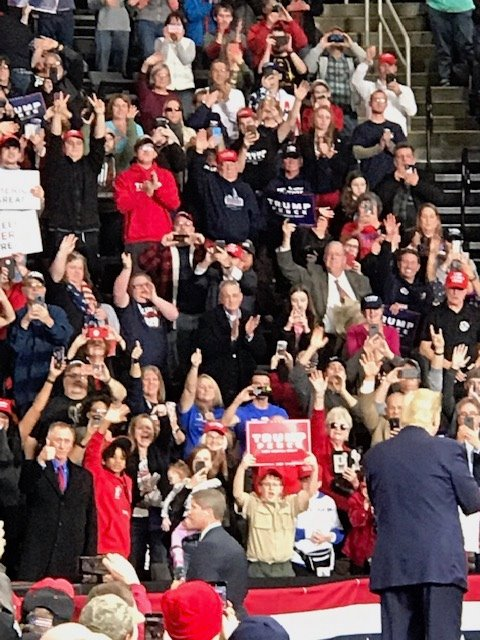 Ohio Federation of Republican Women Members Attend Trump Rally in Toledo