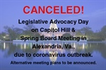 Important Message From NFRW President Regarding Spring Board Meeting, Legislative Advocacy Day