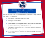 NFRW Encourages Members to Continue Supporting Campaigns, Candidates During COVID-19 Pandemic