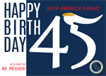 California Federation Announces Trump Birthday Postcard Project