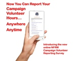 NFRW Campaign Committee Introduces New Campaign Volunteer Reporting Survey