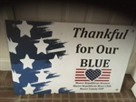Moore Republican Women (NC) Launches 'Thankful for Our Blue' Campaign