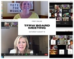 Tennessee Federation's First Virtual Board Meeting Features Senator Marsha Blackburn