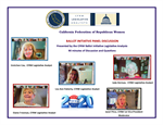 California Federation of Republican Women Holds Statewide Ballot Initiative Discussion via Zoom