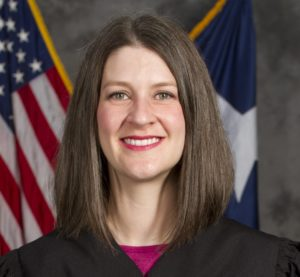 Texas Federation Member Judge Emily Miskel Receives Top Honor