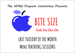 NFRW Program Committee Launches Monthly Bite Size Training Sessions