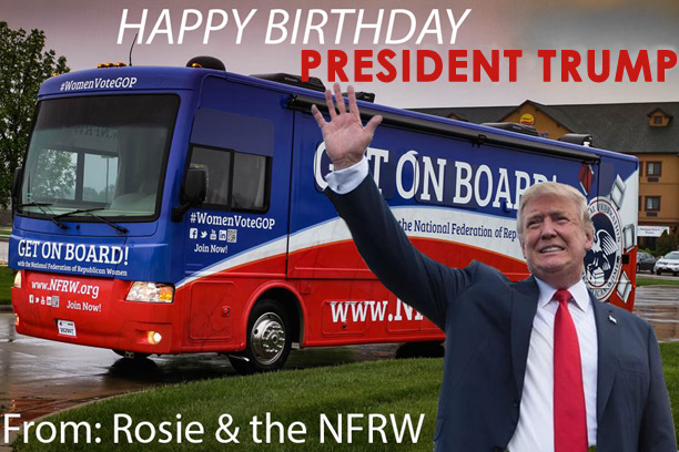 Wish President Trump 'Happy Birthday!'