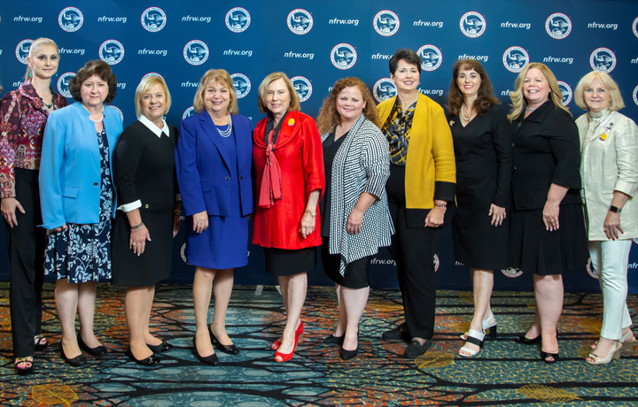 Members of the 2020-2021 NFRW Executive Committee